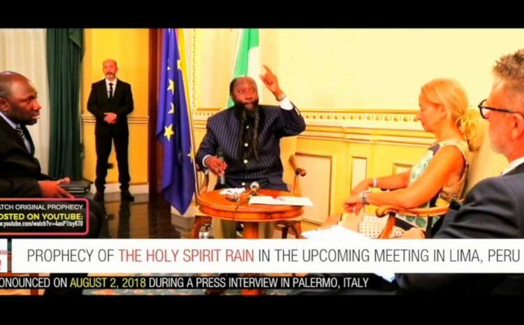 Hoe profeet Elia ook nu de regen brengt