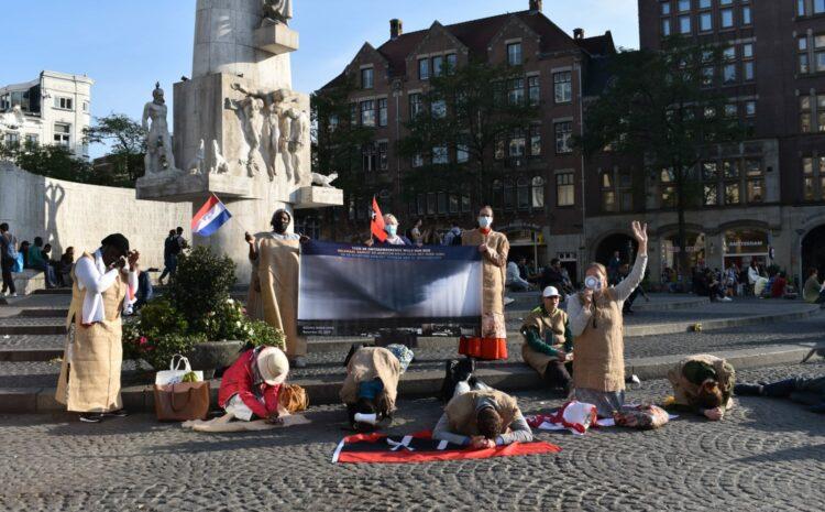 Schuldbelijdenis & oproep tot bekering in Amsterdam